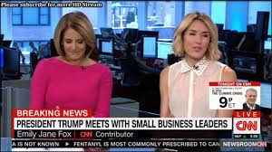 Reporter Breaks CNN Dress Code And Lets You See Through Her Shirt