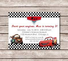 100 Free Cars And Trucks First Birthday Invitations Disney Printable
