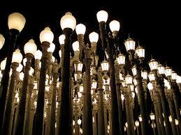 """Urban Light"""" LACMA"""