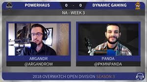 100 Powerhaus OW Open Division 2018 S3 NA Week 3 Vs Dynamic Gaming
