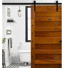 29 Best Sliding Barn Door Ideas And Designs For 2017 Bathroom Sliding Door Designs Awesome Barn For Latch L62 On Lovely Home Interior Design Ideas Epbot Make Your Own Cheap Doors Closets Pinecroft 26 In X 81 Timber Hill Wood With Modern Hdware How To A Plans Homes L24 Attractive Trend Enchanting View In Diy Styles Beautiful Style