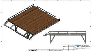 sled deck r build expandable sled deck blueprints