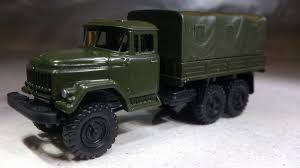 100 Zil Truck Herpa Military 744355 ZIL 131 Canvas Wwwherpaonline Your