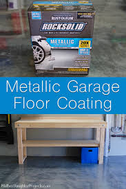 Rocksolid Garage Floor Coating Instructions by Rust Oleum Rocksolid Floor Coating Mother Daughter Projects