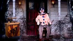 Spirit Halloween Animatronic Mask by Thrashing Clown And Tnt Youtube