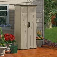 Rubbermaid Roughneck Shed Accessories by Outdoor Storage Shed Container Organizer Box Cabinet Garden Yard