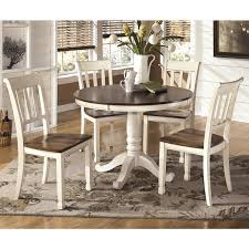 Living Essentials Whitesburg 5 Piece Dining Set In Brown And Cottage