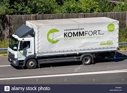 100 Truck Renta MercedesBenz Atego Of KommFort On Motorway KommFort Is A