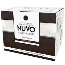 nuvo cocoa couture cabinet paint kit giani inc