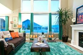 Brown And Aqua Living Room Ideas by Creative Aqua Curtains Living Room U2013 Kleer Flo Com