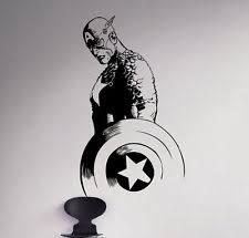 superhero wall decals ebay