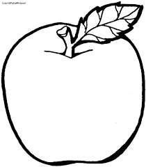 Coloring Pages Apple Fruit Drawing 4511279ab379b52e733ac68d9d809a17