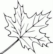 Small Fall Leaves Coloring Pages Throughout