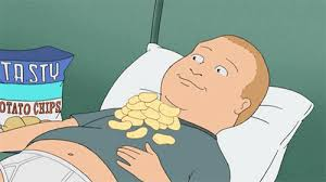 Porcupine Eating Pumpkin Gif by Bobby Hill Eating Chips Off Of His Stomach Gif
