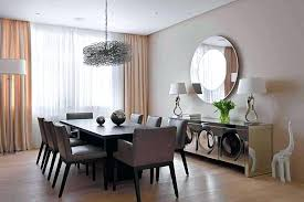Wall Decor For Dining Room Area Mirror Ideas With Stunning Mirrors Large
