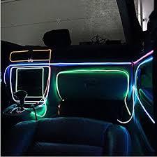 neon pour voiture exterieur fr aumo mate 3m 12v led neon el wire lumière el