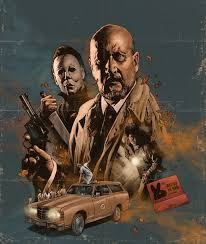 Dr Loomis Halloween Remake by The Horrors Of Halloween Halloween 1978 Character Poster Art By