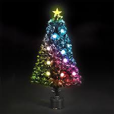 Raz Artificial Christmas Trees by Fiber Optic Christmas Decorations Fiber Optic Christmas