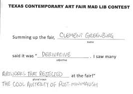 Halloween Mad Libs Free by Texas Contemporary Mad Libs Winners U2013 Glasstire