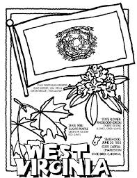 West Virginia State Symbol Coloring Page By Crayola Print Or Color Online