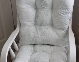 Light Grey Rocking Chair Cushions by Glider Cushion Etsy