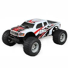 100 Losi Trucks 110 Tenacity 4WD Monster Truck Brushless RTR With AVC White