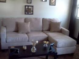 acme vogue microfiber reversible chaise sectional sofa multiple
