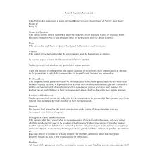 Business Partnership Contract Template Free Fresh Templates Affiliate Agreement Marketing