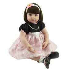 Amazoncom ENA Reborn Baby Doll Realistic Silicone Vinyl Baby 10