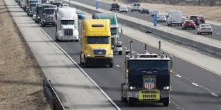 100 International Trucks Indianapolis Truck Driver Protest Against ELD Mandate Had Low Turnout Business