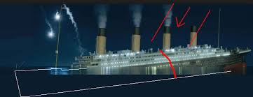 Sinking Ship Simulator The Rms Titanic by Did The Breakup Begin At The Bottom Of The Ship Or The Expansion