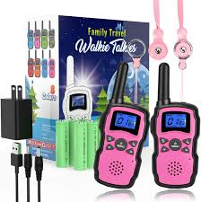 wishouse rechargeable walkie talkies for