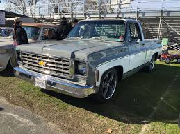 100 75 Chevy Truck Kevs Classics C10 Squarebody At Turlock Swap Meet Squarebody Or
