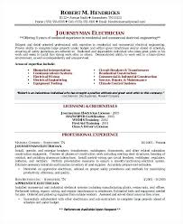 Electrical Apprenticeship Resume No Experience Apprentice Electrician Template Templates