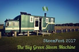 Steemfest 2017 In The Big Green Steem Machine!!!!!! — Steemit