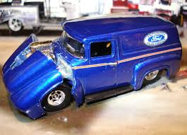100% HOT WHEELS 56 1956 Ford F-100 Limited Edition Panel 1/64 Street ...