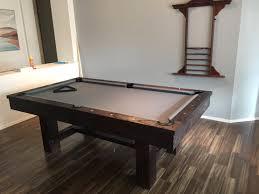 Reno 7 8 Rustic Pool Table