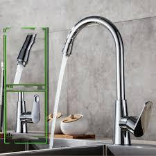 Diy Kitchen Faucet 2021 360 Rotation Modern Kitchen Faucet Sink Plating