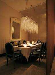 Capricious Rectangular Crystal Chandelier Dining Room Lighting Contemporary With Simple