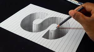 3d Drawing Letters S