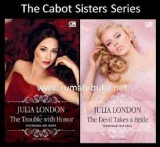 Jual Buku Resensisinopsis The Cabot Sisters Series By Julia London