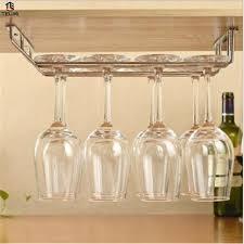 support mural cuisine verre de vin porte gobelet en acier inoxydable cuisine support