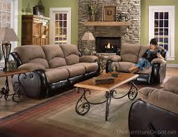 Southern Motion Reclining Furniture by Southern Motion Jolson 3 Pc Dual Reclining Sofa Furniture Depot