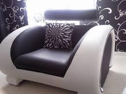 canapé noir et blanc canapé design noir et blanc cuir and co