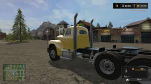 OLD MACK B61 V8 TRUCK V1.0 FS17 - Farming Simulator 17 Mod / FS 2017 Mod