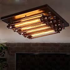 retro loft deckenleuchte vintage rustikal bar deckenle kreativ wohnzimmer esszimmer schlafzimmer studie deckenbeleuchtung industrielle eisen metall