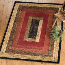 Rustic Wildlife Rugs Including Moose And Bear