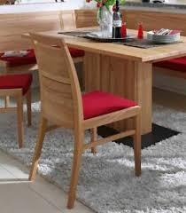 details zu massivholz stuhl kernbuche geölt polsterstuhl rot esszimmer stuhl holz stühle