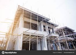 100 Concrete Residential Homes Newly Built Estate Thailand Build Steel