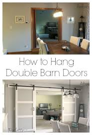 What I Wish I'd Known About Double Barn Doors - The Palette Muse House Revivals Barn Door Hdware Guide Top 21 Stunning Exterior Sliding Home Devotee Keeping It Cozy A Wall Of Doors Diy Design Bitdigest Ideas For Pating Pallet 5 Steps Remodelaholic 35 Rolling Durable Everbilt Rebeccaalbrightcom Interior Double Tutorial H20bungalow Knotty Alder Sliding Barn Doors Best 25 Style Ideas On Pinterest Youtube